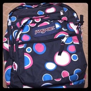 Polka dot Jansport Backpack